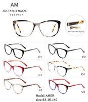Metal Acetate Eyeglasses Frames AM09