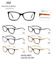 Metal Acetate Eyeglasses Frames AM11