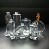 FDA certificate High Quality Clear Glass Perfume Bottle