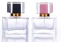 2019 high quality fashion design Luxury  Glass Perfume Bottle