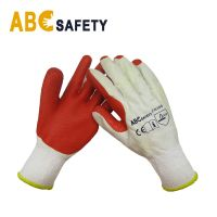 Rubber Coated Safety Work Gloves