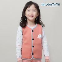 OLOMIMI 2019 SS and FW NEW Products/ Cotton short vest/Dumbo Coral