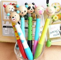 Wooden Cartoon Ball Pen