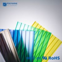 16 mm polycarbonate hollow sheet with clear color