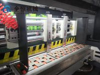 High Speed Lead edge feeder Automatic Slotter Die cutter carton box making machine