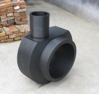 high pressure large HDPE PE scour tee for dredging