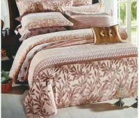 3D Burn Out Print Velvet Comforter Stock For Sale