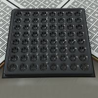 All-steel ventilated anti-static raised floor for workshop, office, electronics workshop and clean room