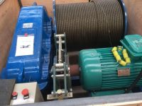 Electric winch used for construction
