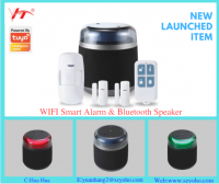 newest Bluetooth speaker but also a wifi alarm system