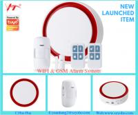 2019 new Tuya App/smart life control GSM and WIFI alarm system 2G/4G mold YH-GW1