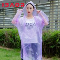L\Pla High quality disposable degradable compostable durable clean adult kids raincoat,hotsale rainwear poncho