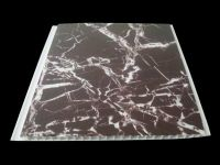 China building material flat laminated pvc wall panel/pvc ceiling for indoor decoration