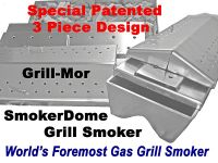 SmokerDome Grill Smoker Patent License