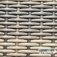Leisure Rattan Plastic Wicker  Hand Weaving for Outdoor Garden Furniture