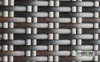 PE Resin Wicker Rattan Garden Furniture Material Weave Waterproof
