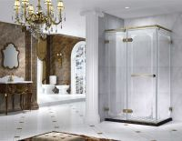 Semi Frameless Rectangle Shower Enclosure With Pivot Door, AB 6231-2 Min. Order:50 Pieces