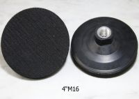 4 Inch Rubber Backer Pad with Thread 5/8-11 M14 Angle Grinder Polisher Polishing Machine