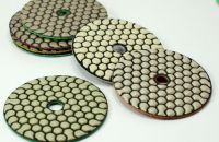 4 Inch Flexible Dry Use Diamond Polishing Pad for Marble