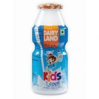 Dairy Land Kids Lassi (Yogurt, Strawberry, Mango and Banana Flavor) 100 ml