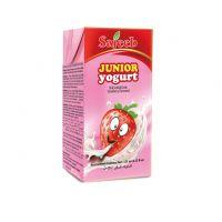 Sajeeb Junior Yogurt Drink (Yogurt, Strawberry, Mango and Banana Flavor) 125 ml