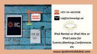 Renting iPads | iPad Lease | Rent iMac in Dubai