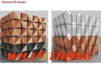 High Quality En13501 Certification 3D Wall Panel ACP Aluminum Composite Panel Building Material