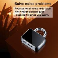 New design lock shape voice recorder hidden key chain sound recorder Q11
