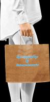 17 L X 13 W Virgin Kraft Paper Bag