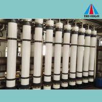 High efficiency hollow fiber UF membrane
