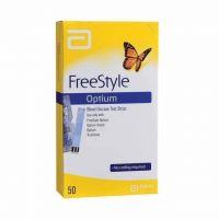 ABBOTT OPTIUM FREESTYLE 50 TEST STRIPS