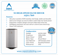 SS High-Speed Hand Dryer