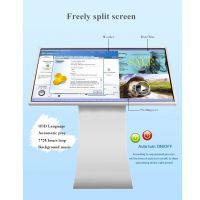 "Interactive Touch Screen Display Floor Standing Kiosk 32'' 43'' 49"" 55''"