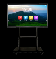 75'' Touch screen display monitor interactive flat panel for education