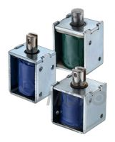 Open Frame Solenoid Electromagnet, Push Pull, DC / AC voltages