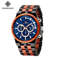 Fashion Watches 2019 Men Quartz Wristwatches Casual Wooden Color Full Wood Skeleton Watch Reloj Mujer Men Watch Montre Homme