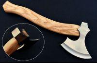 Custom Hand Made Carbon Steel Throwing Axe