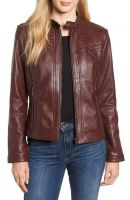 Lamb Skin Leather Jackets for Women's