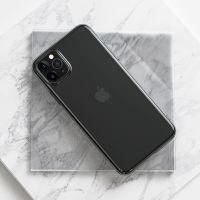 Transparent TPU+PC phone case