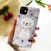 Customized print pattern Transparent TPU mobile phone case