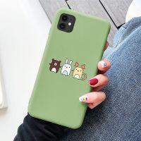 Soft Liquid Silicone Print pattern Mobile Phone Case