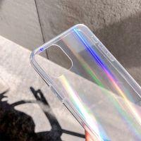 Transparent Aurora 9H Tempered Glass mobile phone case