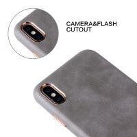 Slim thin PU Leather mobile Phone Case
