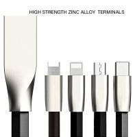 Zinc Alloy universal USB charging Cable And DataTransfer