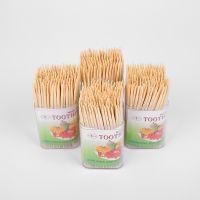 Eco-Friendly Interdental Brush Bamboo Toothpicks, Wholesale biodegradable