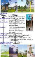 Solar Yard Lamps