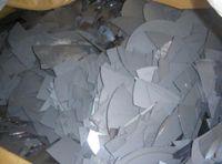 Broken solar silicon wafers