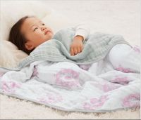 Four layers Muslin Blanket made of 100% cotton muslin fabric