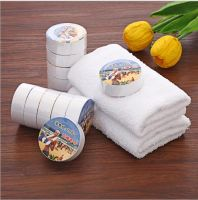 100% Cotton Compressed towel, Magic towel