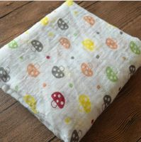 Azo free, soft 100% cotton Muslin swaddle, Muslin Blanket